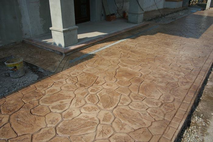Hormig n impreso en madrid pavimentos y suelos precios m2 - Pavimentos exteriores hormigon ...