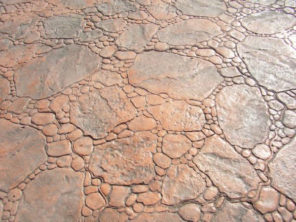 Hormigón impreso Piedra de Rio