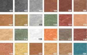 Colores hormigón pulido