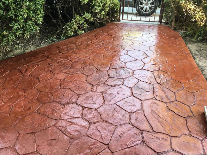 pavimento impreso alcorcon madrid