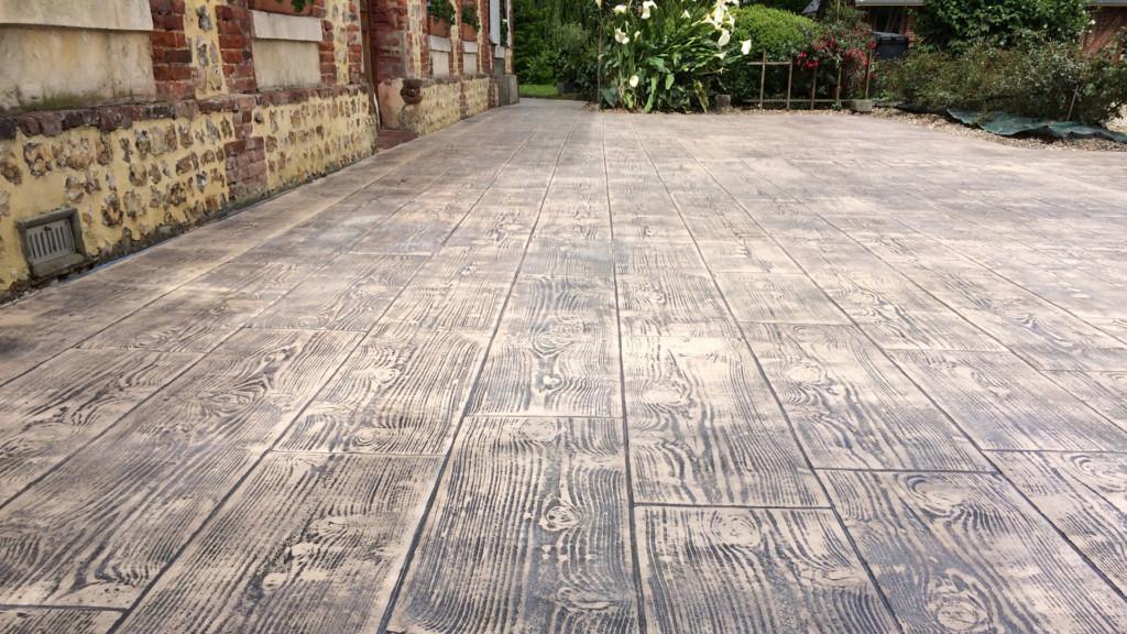 Pavimento impreso en Cuenca