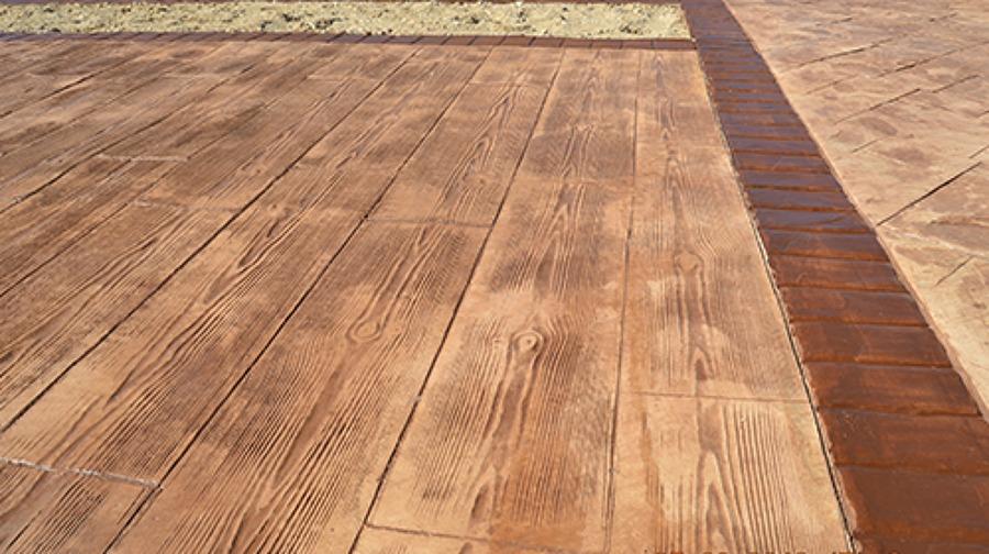 madera pavimento impreso en coruna