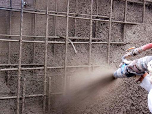 paredes en hormigon proyectado